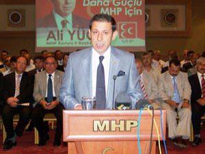 Ali Yücel başkanlığa yeniden aday