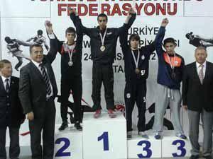 Meram Belediyesporlu Samet Türkiye ikincisi
