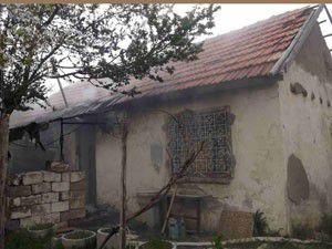 Seydişehirde ev yangını