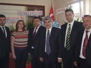 Siyaset Akademisi Derneğinden MHPye ziyaret