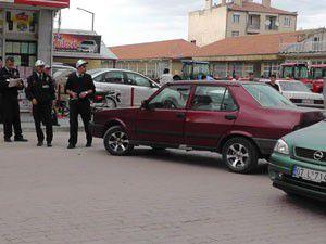 Beyşehirde trafik kazası