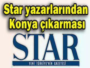 Star yazarları Konyada