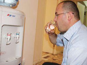 Kriz su sektörüne vız geldi