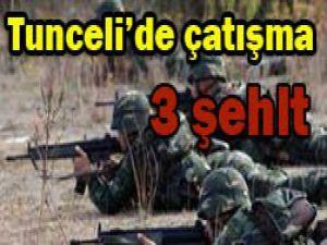 Tuncelide çatışma: 3 asker şehit