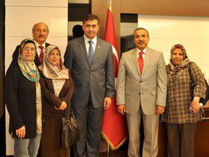 Irak Türkmen heyetinden Merama ziyaret