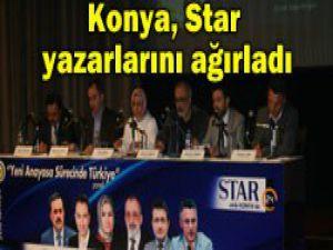 Star yazarları Konya ile buluştu