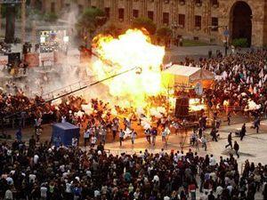 Erivanda patlama: 150 yaralı