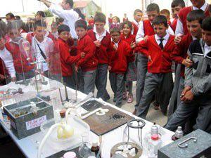 Altınekinde Gezici Bilim Merkezi projesi