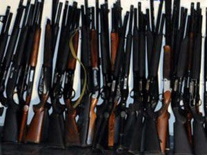 Konyada 90 adet kaçak av tüfeği ele geçirildi