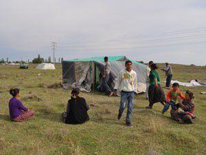 Tarım işçileri Konyaya gelmeye başladı