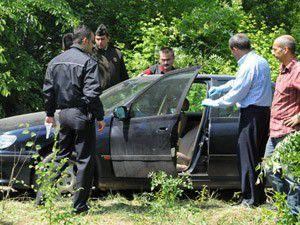 Piyade albay otomobilinde ölü bulundu