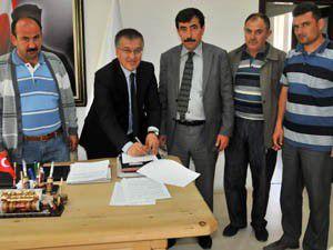 Akşehir Belediyesinde toplu sözleşme imzalandı