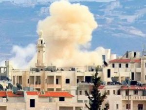 Suriyede patlama