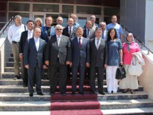 Avrupalı Türk Demokratlar Birliği KMÜyü ziyaret etti