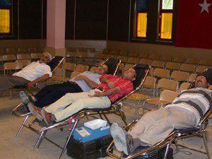 Sarayönünde 78 ünite kan toplandı