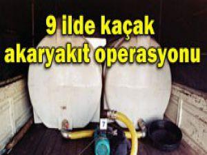 Konya dahil 9 ilde operasyon
