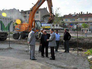 Akşehir Konağı inşaatı başladı