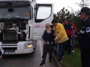Kuluda kaza: 1 yaralı