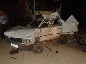 Konyada zincirleme kaza: 1 ölü, 1 yaralı