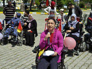 Seydişehirde engelliler haftası