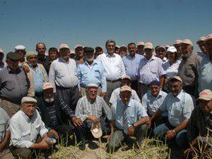 Recep Konukun çiftçiler günü mesajı