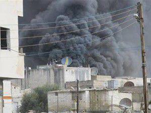 Suriyenin Raştan kentinde şiddetli çatışma