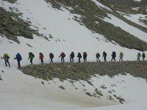 Kaybolan dağcılar bulundu
