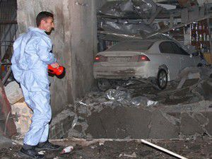 Tamirhanede patlama; 1 ölü, 7 yaralı