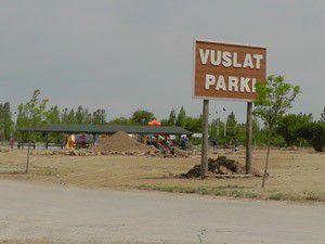 Vuslat Parkında çalışmalar yeniden başladı