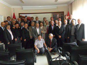 MHP İl Başkanlığı, ilçe başkanlarıyla toplantı yaptı
