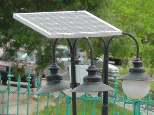 Beyşehirde parklar güneş enerjisi ile aydınlanacak