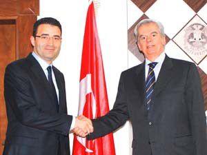 Selçuk İİBF Brezilya Büyükelçisini ağırladı