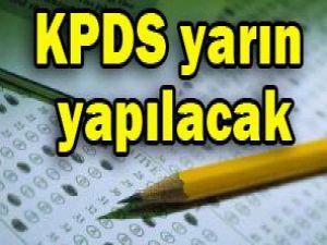 KPDS yarın yapılacak