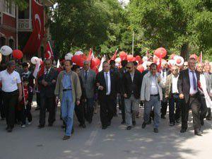 Konyada 19 Mayıs kutlamaları