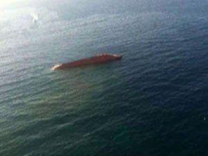 Türk gemisi alabora oldu!