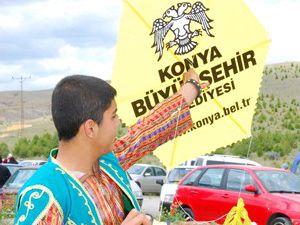 Konyalılar uçurtma festivalinde buluştu