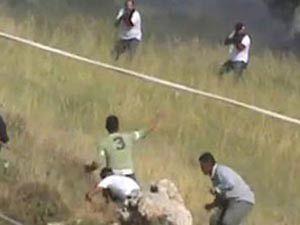 İsrail askerleri sivillere ateş açtı