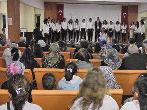 Kuluda lise öğrencilerinden konser