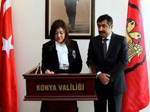 KKTC Çalışma ve Sosyal Güvenlik Bakanı Konyada