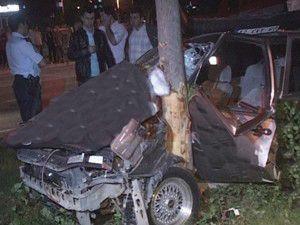 Asker konvoyunda kaza: 4 yaralı