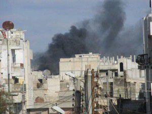 Şamda patlama meydana geldi