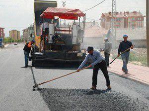 Karatayda asfalt çalışmaları hız kesmiyor