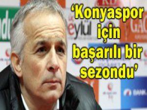 Konyaspor için başarılı bir sezondu