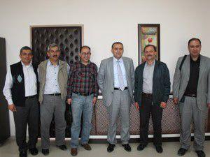 Beyşehir Gazeteciler Cemiyetinden dekana ziyaret