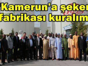 Kamerundan Şekere işbirliği çağrısı