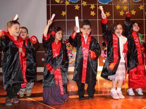 Anaokulu öğrencilerinden yıl sonu şenliği