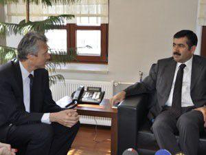 Belçika Büyükelçisi Konyada