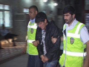 Konyada eve giren hırsızlar yakalandı