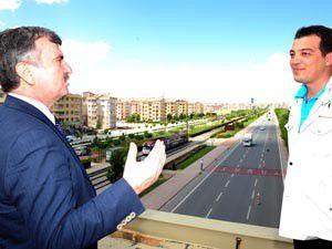 Büyükşehirden, Türkiyeye örnek yaya köprüleri