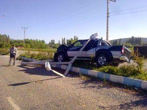 Beyşehirde trafik kazası: 3 yaralı